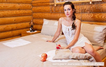 Bed linen in old traditions, Svyataya Russia