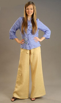 Linen pants, Holy Russia