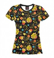 "T-shirt ""Russian Flowers"""
