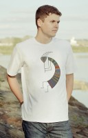 "T-shirt ""Kokopelli colored"""