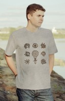"T-shirt ""A set of solar symbols"""