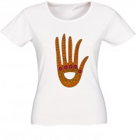 "T-shirt ""hand colored Kulay"""