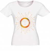 "T-shirt ""Ethnic sun color"""