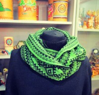 "Scarf-LIC ""Northern ornaments"""