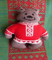 Bear knitted