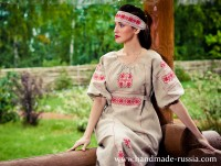 "Dress ""Slavyanka"""