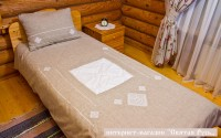 Bedclothes  linen with embroidery