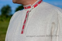 Kosovorotka with red embroidery